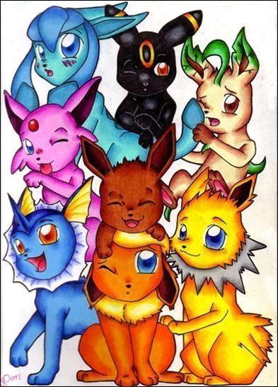 Toutes les volutions d 39 evoli - Toute les evolution pokemon ...